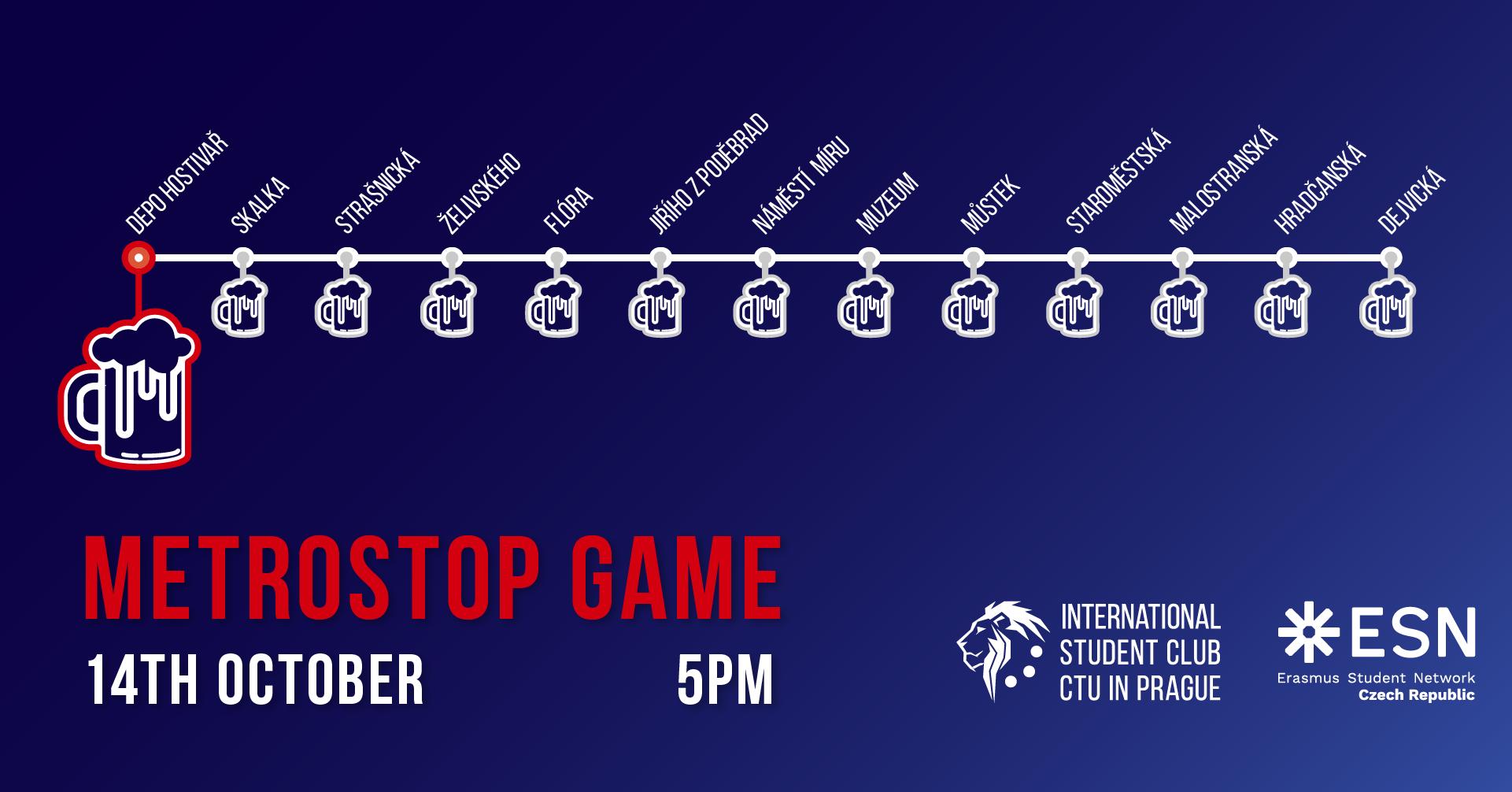 ISC Metrostop Game