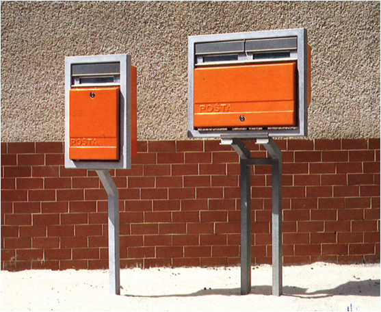 Post office letter boxes
